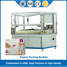 China cheap baby diaper packing machine for 1~5 pcs per bag with individual generators