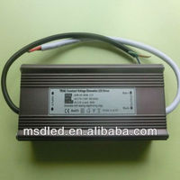12V 80W Triac dimmable led strip 5050 driver
