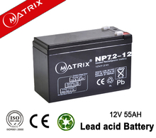 small rechargeable battery 12v 7.2ah for solar