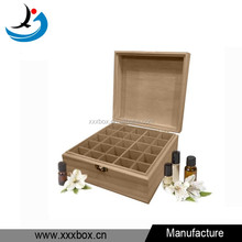 Perfume box luxury gift packaging wooden essential oil perfume storage box