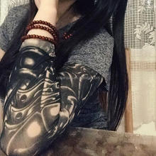 Wholesale cheap fashion design outdoor long full cool seam tattoo arm sleeves of Yiwu manufacturer