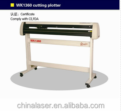 Gweike sticker printer and cutting plotter WK1360