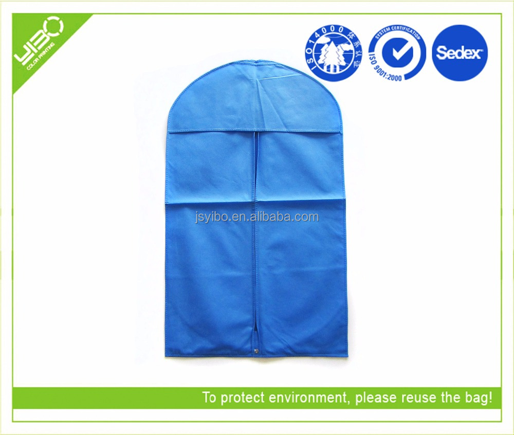 recycled foldable non woven personalized garment bag