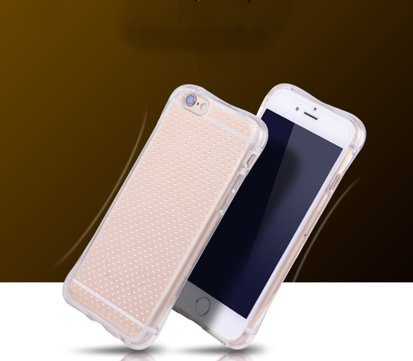 Ultra-thin stylish tpu shockproof protective case for iphone5/6/6plus for samsung s7 edge