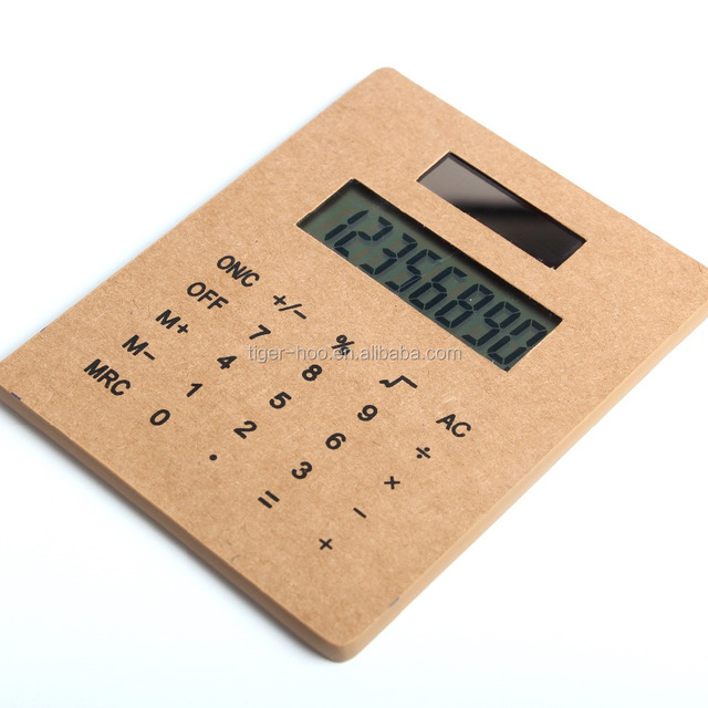 Wholesale Big Screen Solar Paper Calculator