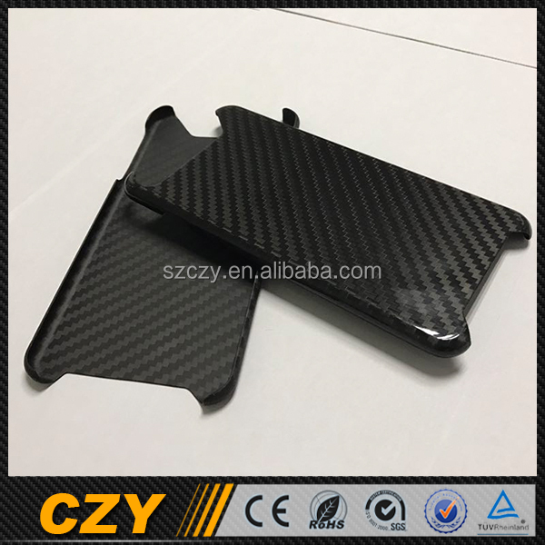 New Arrival Replacement Carbon Fiber Phone Cover Case for Apple 7