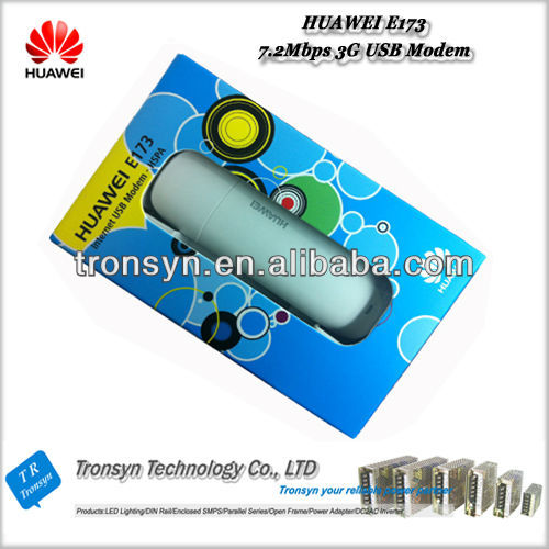 100% Original Unlock 7.2Mbps HUAWEI 3G Mobile Broadband Dongle USB Modem E173