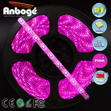 Led flexible light strips rgb led strip lighting outdoor smd 3538 led strip PINK
