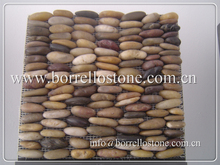 natural pebble mosaic tile