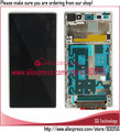 Alibaba Express white LCD with Touch Screen and Frame Assembly For Sony For Xperia Z1 L39H L39
