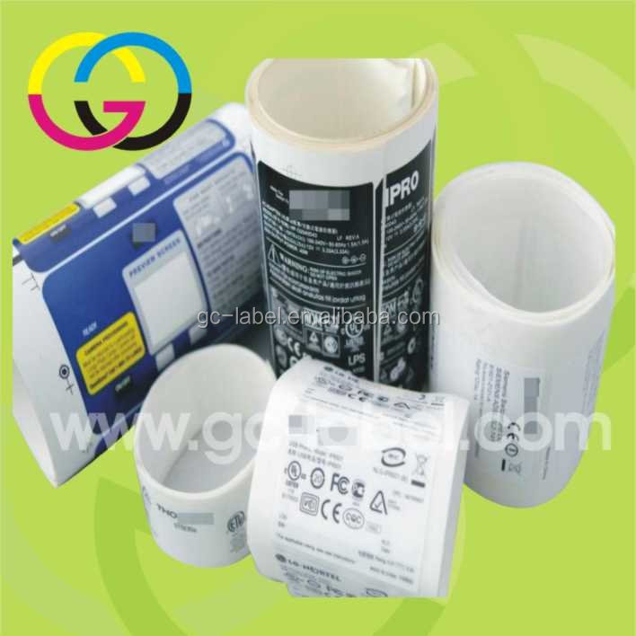 Low price rolling tickets printing self-adhesive stickers and labels