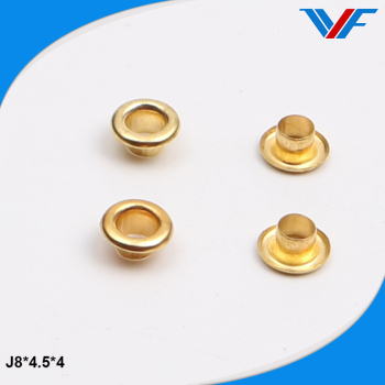 8mm brass eyelet and grommet
