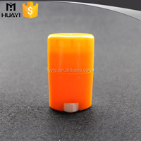 15ml 40ml 50ml 75ml oval shape plastic colorful stick deodorant container