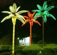 Outdoor decoration LED lights coconut tree
