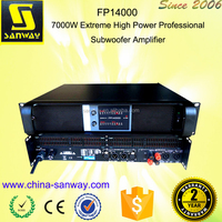 FP14000 7000W Extreme High Power Professional Subwoofer Amplifier