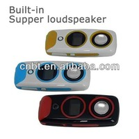 oem mp4 player built in fm transmitter with Supper loudspeaker