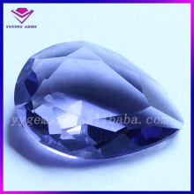 Wholesale Factory Price Pear Shape Blue Glass Crushed Gemstones