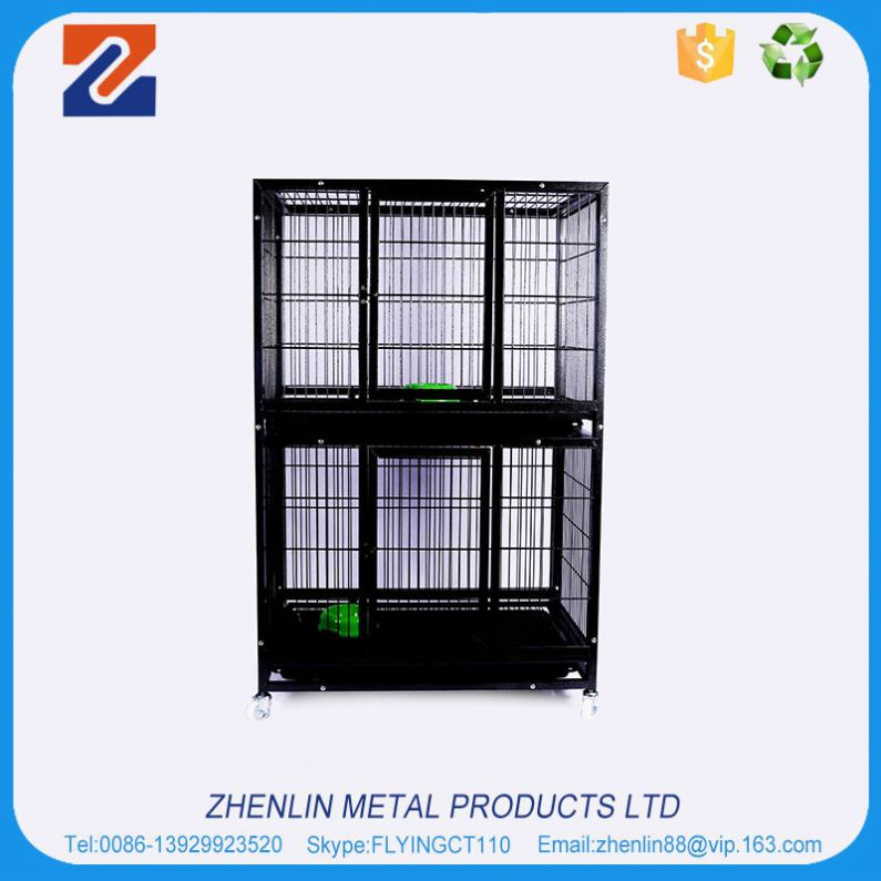 Best selling good quality wholesale dog cage with tray