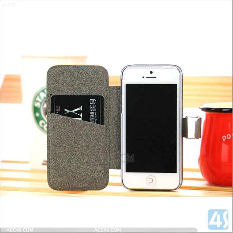 "2013 snow pattern Flip Flux Leather Case Cover for iphone 5"" original P-IPH5CASE121"