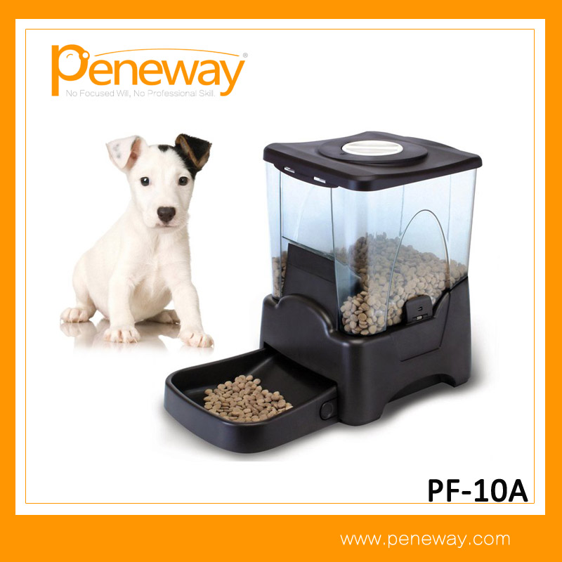 Large Portion Control Automatic Dog Cat Pet Food Feeder