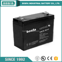 rechargeable lead acid storage 4v battery 12ah