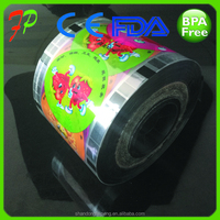 cup sealing film roll