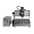 Dowin 6040 pvc pipe chocolate model curving machine cnc router for engraving cutting flexible dies