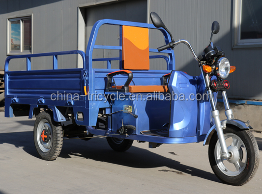 1000w brushless motor electric cargo tricyle high safety tricycle van