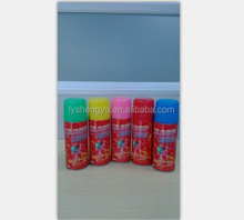 250ML fluorescent Party Crazy String,Silly String/party string/party spray glowing in the dark