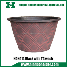 wholesale garden outdoor&indoor plastic plants flower pot