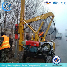 3 Meters Rotary Function Hydraulic Pile Driver with Auger Drill