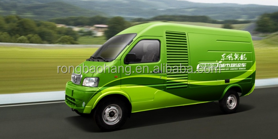 Dongfeng Yilong New Energy City Logistics Transport electric van truck