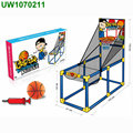 Basketball Set,The Dunk Collection Scrub-a-Dunk-the Bathtub Basketball Hoop for Baby Ballers