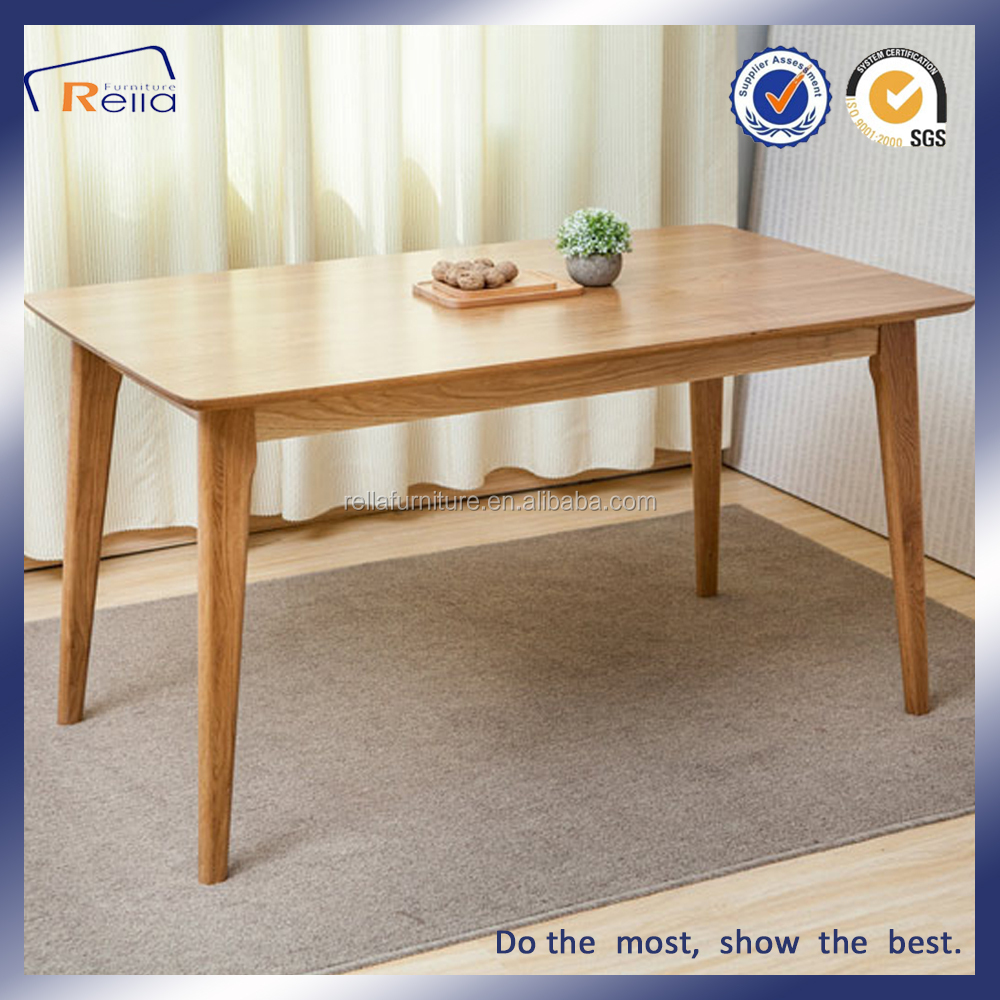 European style OAK modern dining table furniture