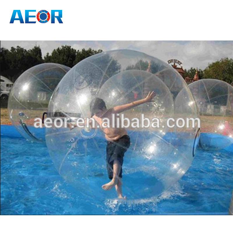Cheap inflatable bubble ball walk water ,inflatable walk on water ball for sale