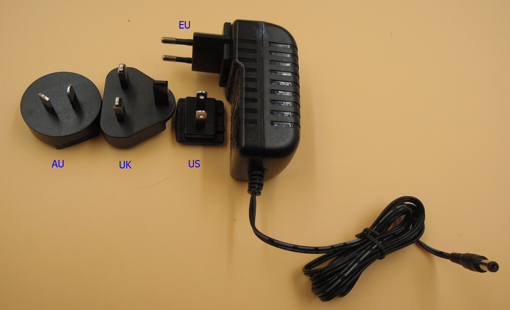 36v dc switching power supply 36v 1a international plug adapter 36w