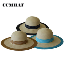 Wholesale Paper Straw Hats for Women Sun Lady Custom Straw Hat