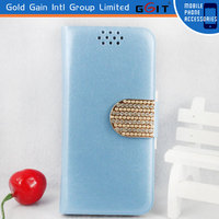 High Quality Leather Wallet Flip Case For Galaxy Grand 2
