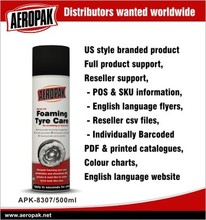 Aeropak Eco-friendly Passenger car tyre foaming care