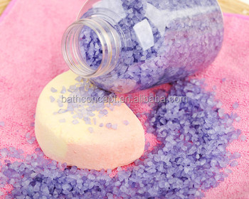 60ML lavender spa bath salt scented