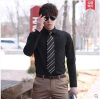 China blank soft fabric high quality business men's suit office shirts wholesale