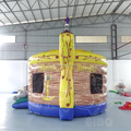 16020058 Pirate boat theme giant inflatble bouncer&combo