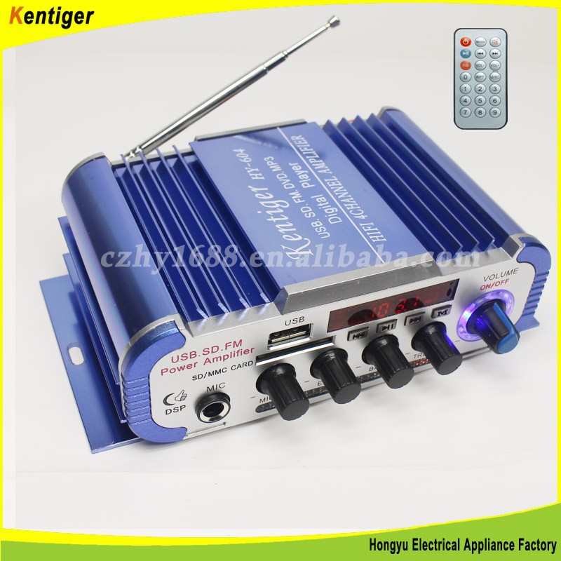 High power MP3 car/motorcycle amplifier