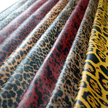 Leopard Print pu leather for making bags