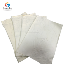 White 100% cotton cleaning rag(New) knitted selvedge waste paper