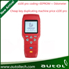 Cheap key duplicating machine price x100 pro New function add eeprom and odometer x100 pro key programmer for all keys lost