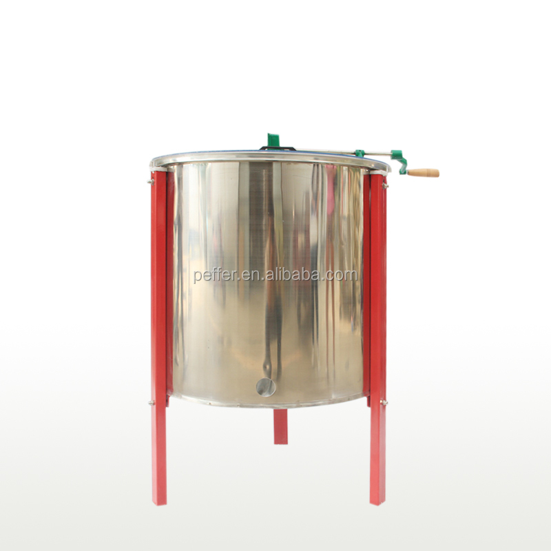 Beekeeping tool 8 frames manual honey extractor bee honey processing machine