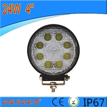 CE RoHS approved IP67 high intensity 4'' 24w led flat spot light 81910