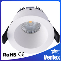 Gentle brightness 8W cob led downlight dimmable