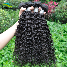 No tangle no shedding virgin brazilian deep curl hair weaving factory directly sale promotion price
